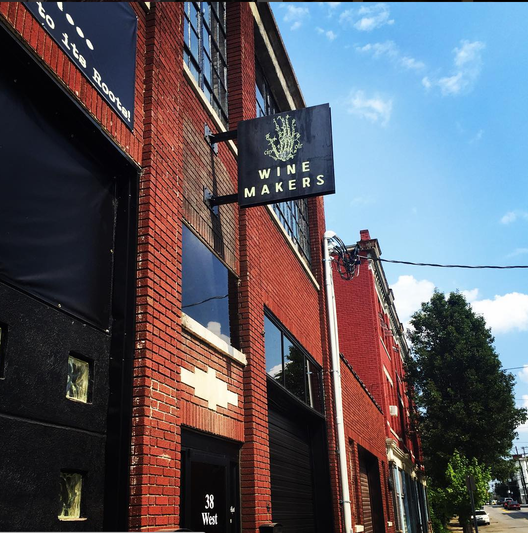 The Skeleton Root, the new urban winery and event space in OTR, seeks to link the city's urban core with its mid-1800s Longworth-era wine heritage . It is located at 38 West McMicken Avenue in Over-the-Rhine 45202. / Image courtesy of The Skeleton Root