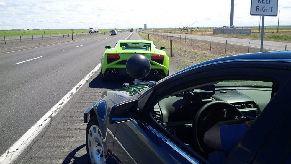 Lamborghini Among Several Exotic Cars Busted Going Mph On Way - Car shows in washington state