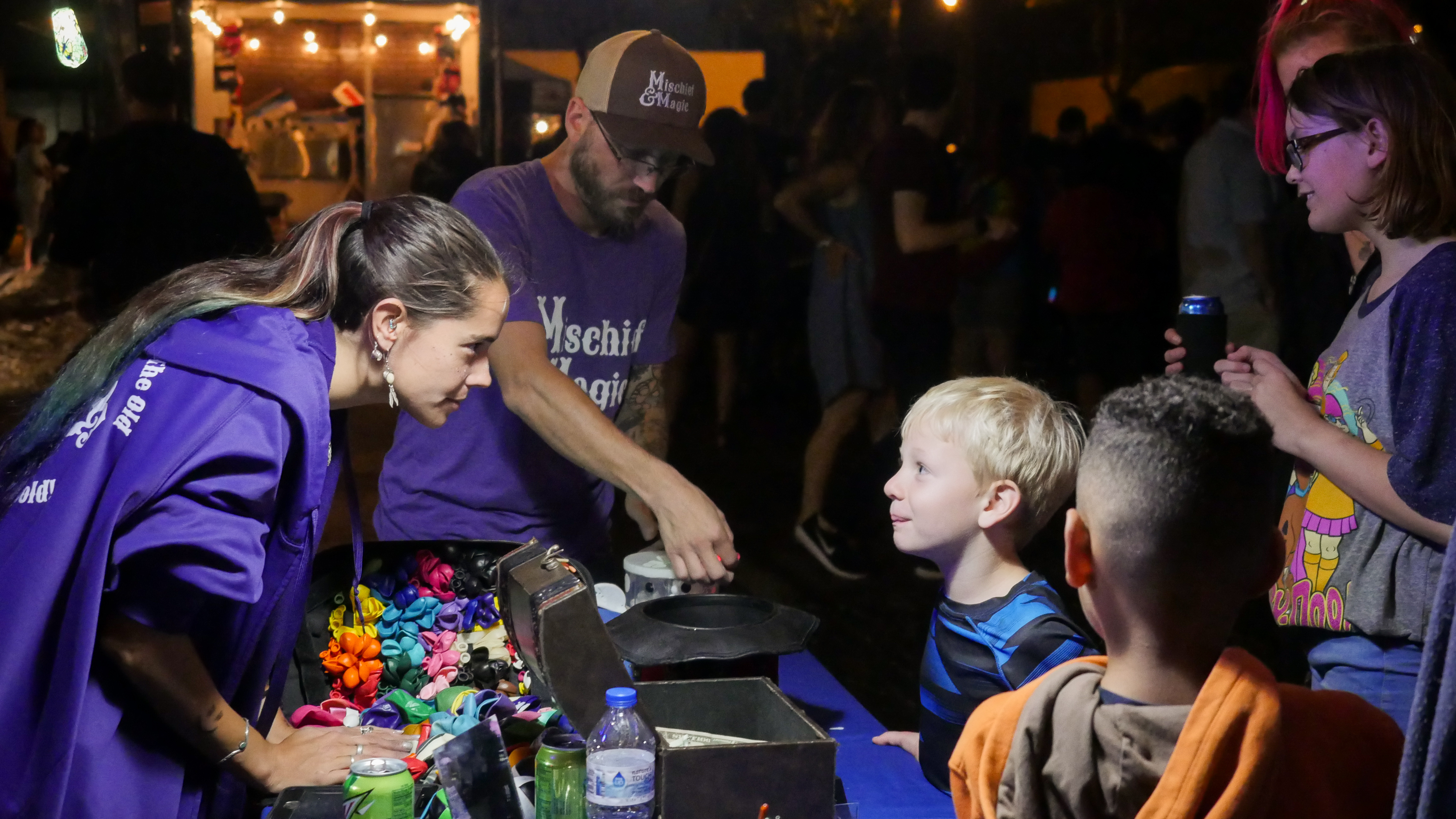 IgNight Market taking place in the Broadway District of downtown Green Bay, Saturday, September 21, 2019 (WCWF/ Beni Petersen)