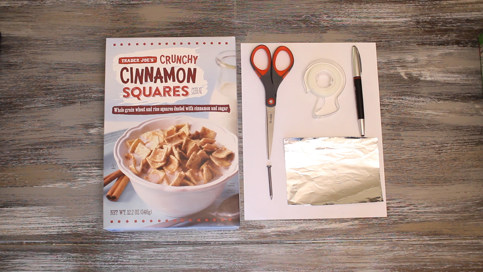 How to make a cereal box projector for the solar eclipse wlos how to make a cereal box projector for the solar eclipse ccuart Image collections