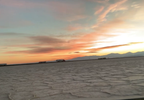Driving around on the Bonneville Salt Flats during sunset. (Adam Forgie, KUTV) (5).png