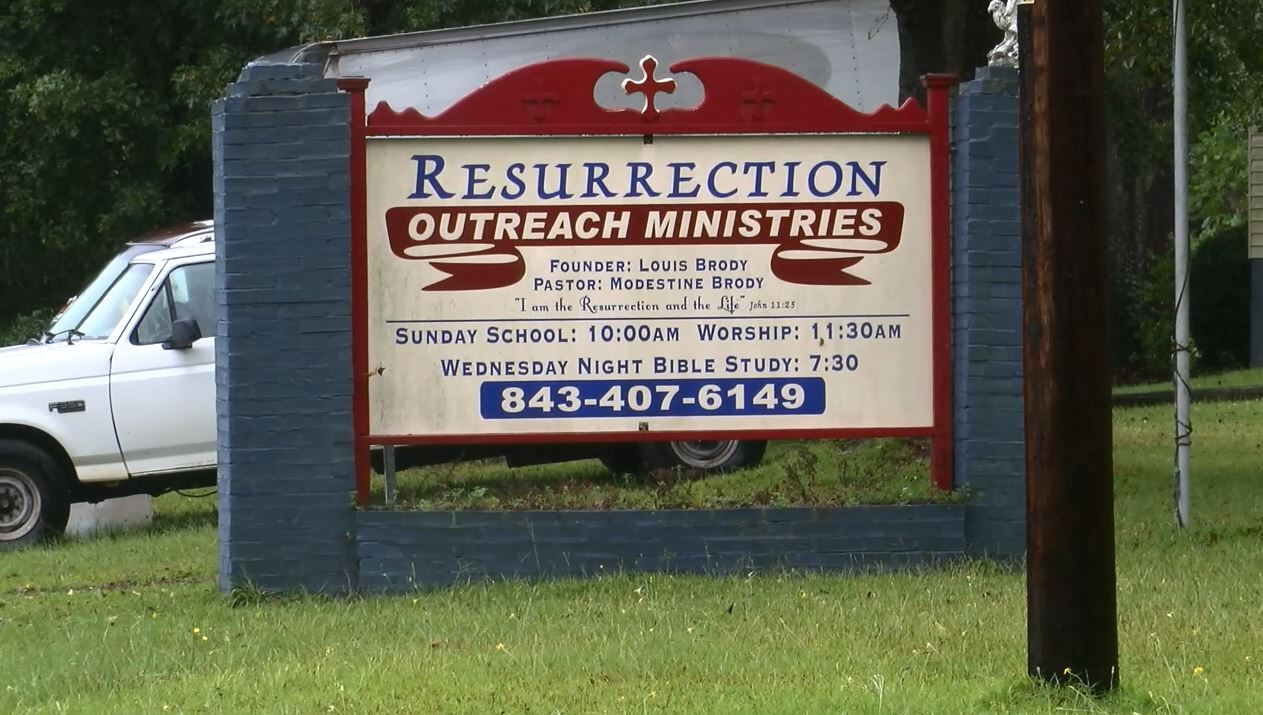 Shelter officials say Resurrection Outreach homeless shelter in Florence is facing foreclosure. (WPDE)