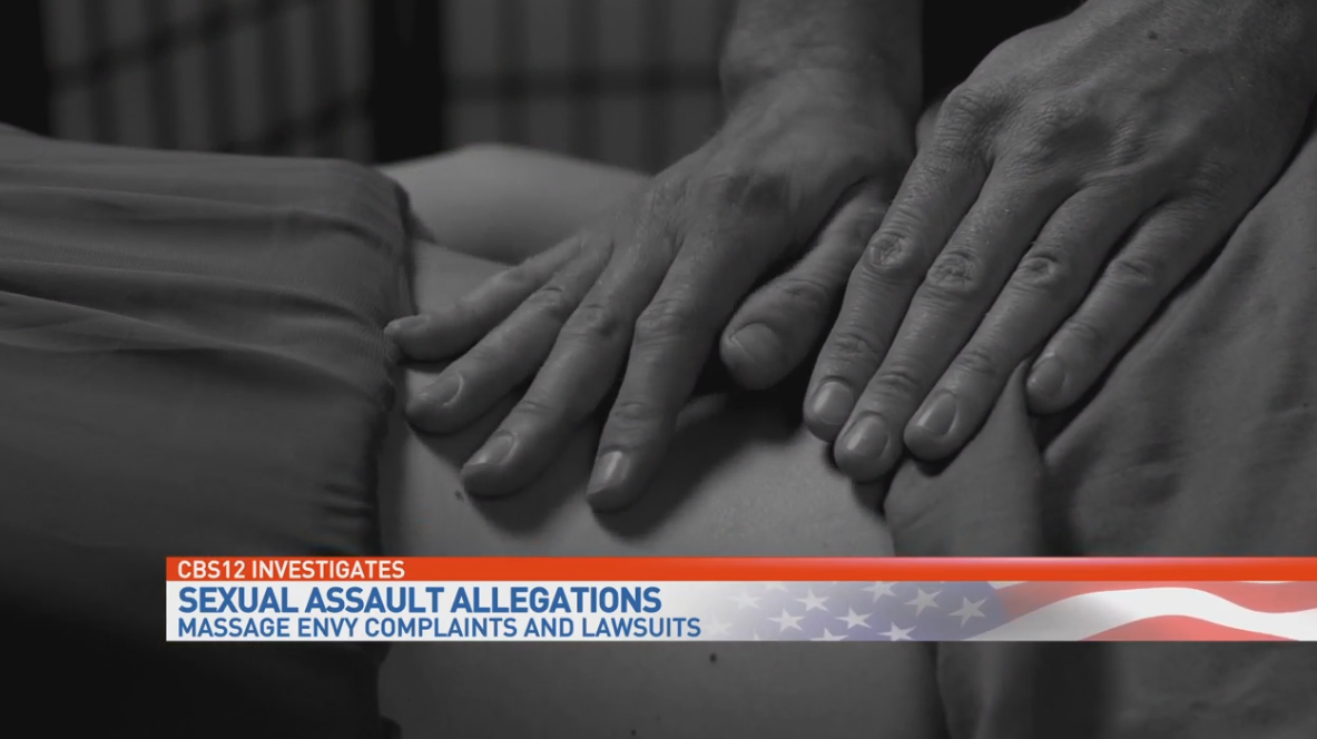 CBS12 Investigates: Allegations of sexual assault at Massage Envy. (WPEC)