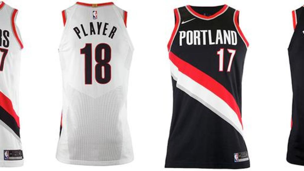 Portland Trail Blazers unveil new Nike uniforms