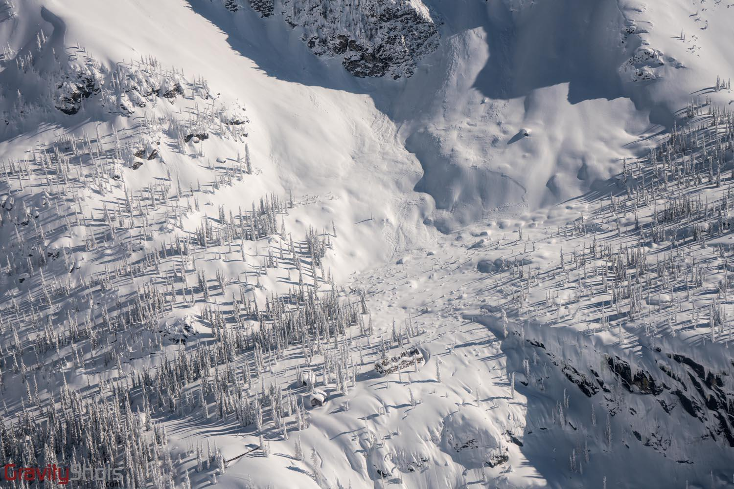 Sperry Chalet winter flyover, Courtesy Glacier National Park Conservancy