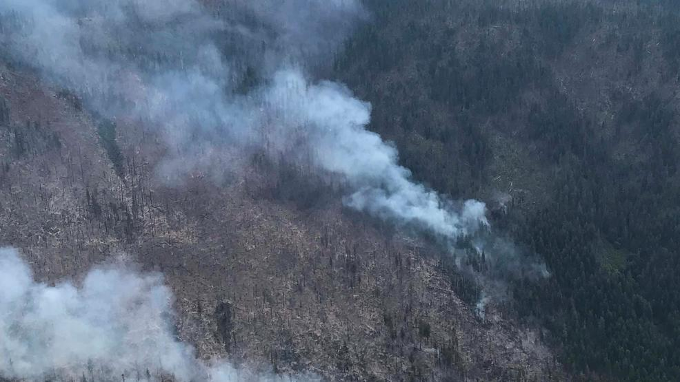 Fight continues against Gopher fire in Sky Lakes Wilderness