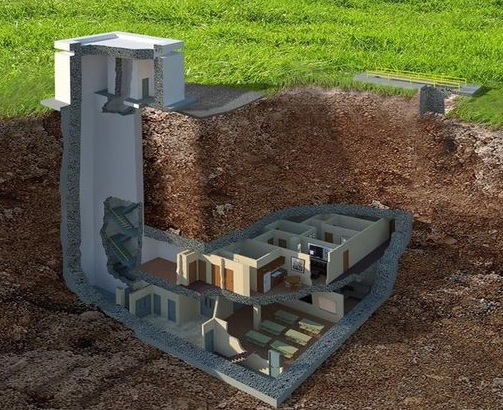 Located in Southwest Georgia, a bunker was built in 1969 by the Army Corps of Engineers and fully renovated to government standards in 2012. / Kerri Copello