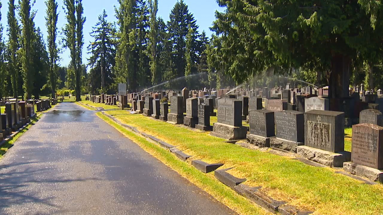 For weeks, workers at the Sephardic Jewish Cemetery in North Seattle have been cleaning up needles, trash and other waste left behind by homeless campers on their{ }grounds. Now the cemetery board is bringing in extra security. (Photo: KOMO News)