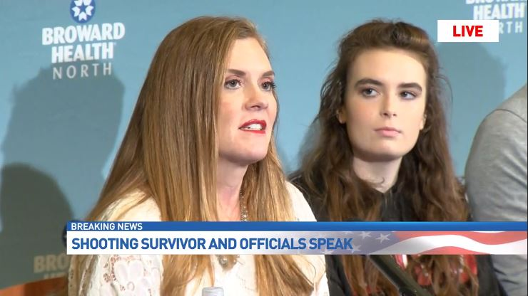 Missy Wilford, the mother of injured student Maddy Wilford, says deputies went above and beyond at the hospital. (WPEC)