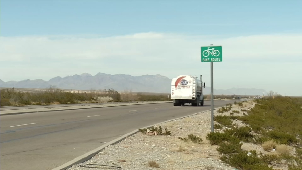 El paso cyclist recovers after hit by vehicle on christmas for Chaparral motors el paso tx