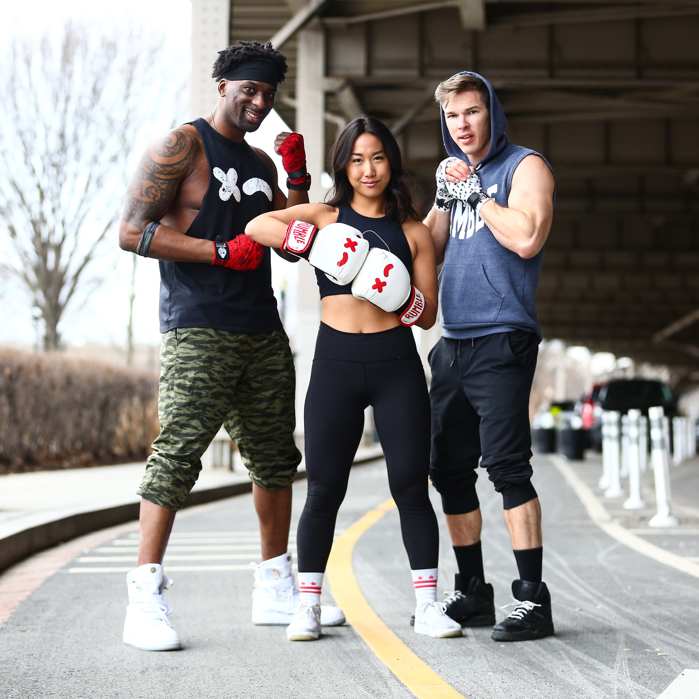 D.C. instructors Arnie Gaither, Sharon Kim and Joshua Rasch. (Image: Trapp Photos/ Courtesy Rumble)