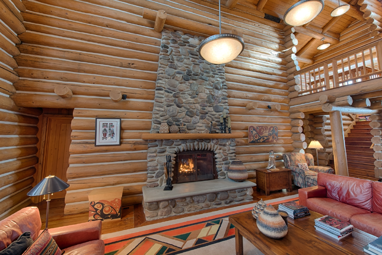 photos 5 95 million mccall log cabin dazzles on payette lake kboi