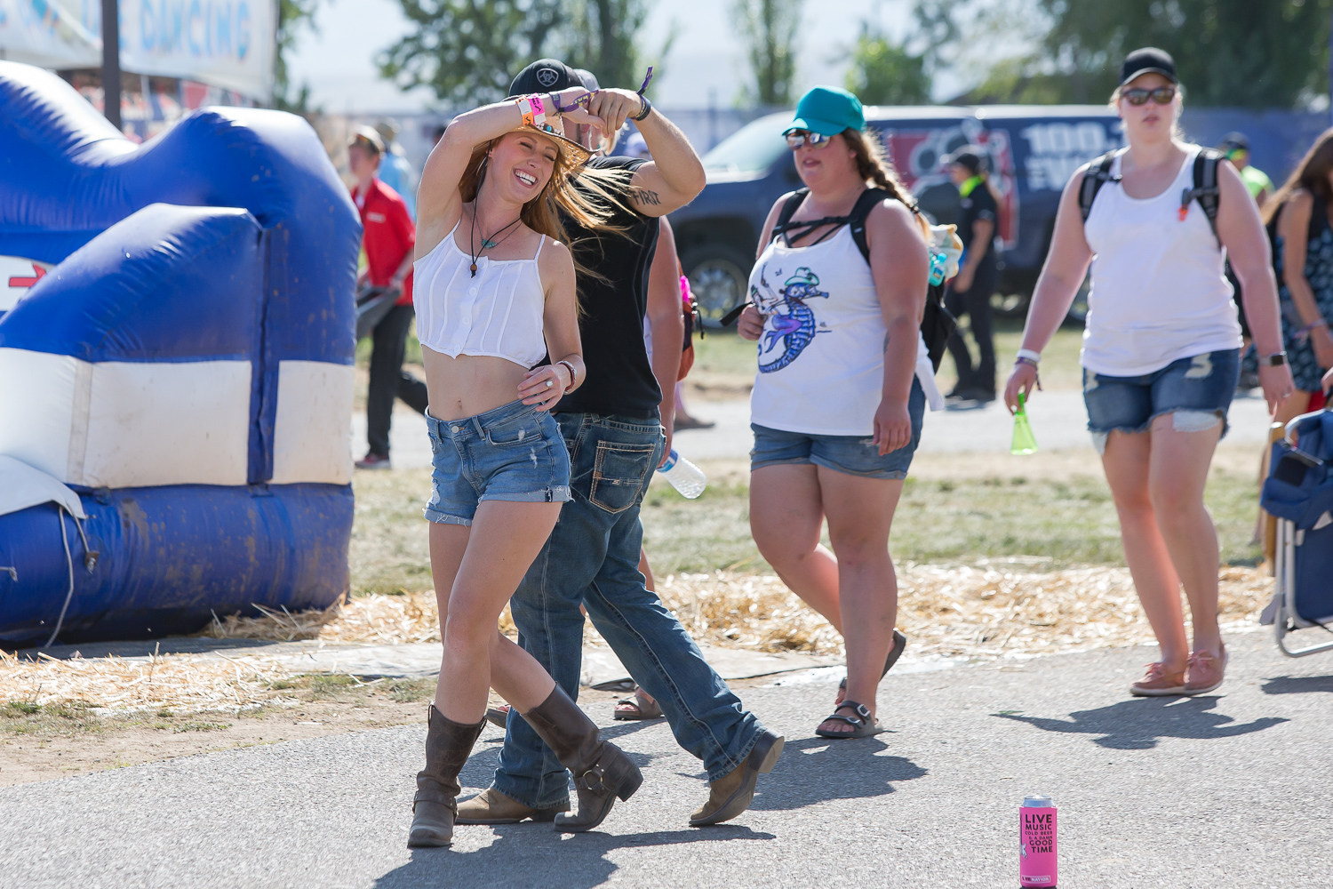 Every year, country music fans pack up their camping gear and make the trek out to George, WA for the annual Watershed Music Festival. The three-day festival includes a giant ferris wheel, line dancing, waterslide, a foam party, and of course - music! Headliners include Miranda Lambert, Zac Brown Band and Jason Aldean - and the festival is completely sold out. (Image: David Conger / davidconger.com / Seattle Refined)