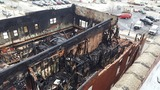 Three alarm fire displaces 8 in Charleston