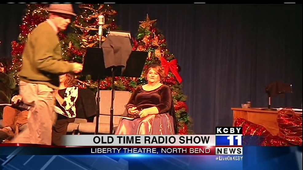 old time radio comes to liberty theatre for charity - Old Time Radio Christmas