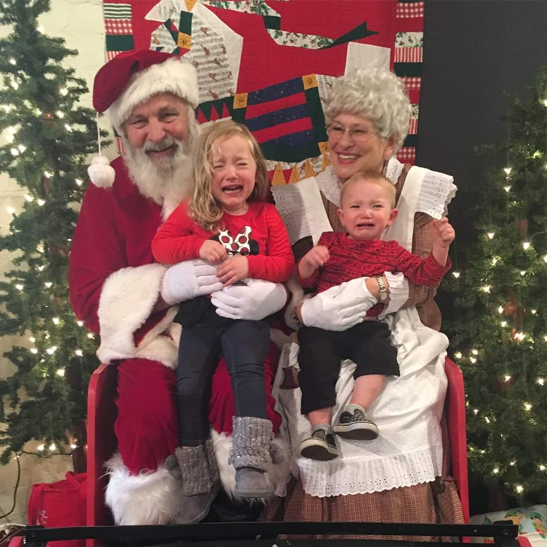Ah, Santa Claus - the glorious bearded man in the big red suit who fulfills our kiddos holiday dreams and wishes.  Also doubling as, apparently, the scariest man alive. Grab a glass of eggnog, sit back and feast your eyes on these Santa pics gone wrong - or as I call them...realistic Santa pics.  (Image: Corrin Bauer).
