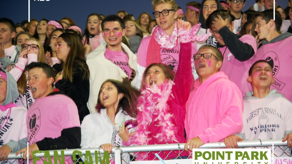 Beaver Falls at Central Valley: Point Park University Fans of the Game