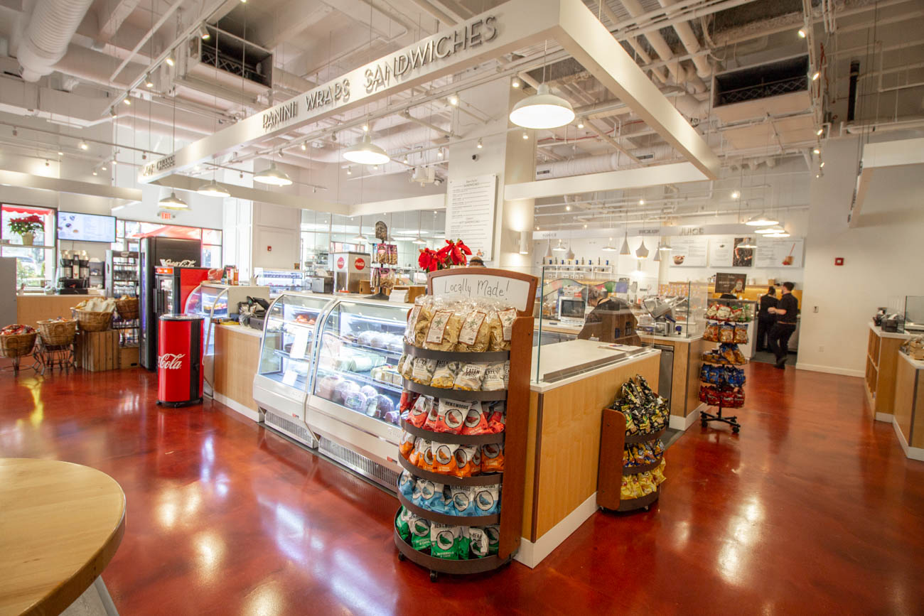 Butlers Pantry is one of the three eateries within Covington's RiverCenter that underwent changes and enhancements in late-2019. Mitch Arens, formerly of Hotel Covington, and Stephen Williams of Bouquet were brought on board as partial owners to elevate the menus and put a focus on making things in-house, from scratch, and with locally sourced ingredients. The marketplace-style café features stations for coffee, sandwiches, salads, pastries, smoothies, and more. ADDRESS: 50 E Rivercenter Boulevard (41011) / Image: Katie Robinson, Cincinnati Refined // Published: 1.28.20