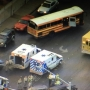 School bus involved in 3-vehicle crash near Torrey Pines and Tropicana injures 2