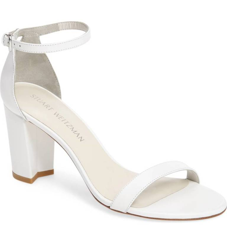 Stuart Weitzman_Nearly Nude Ankle Strap Sandal, $398, Nordstrom.com (Image: Courtesy Nordstrom)