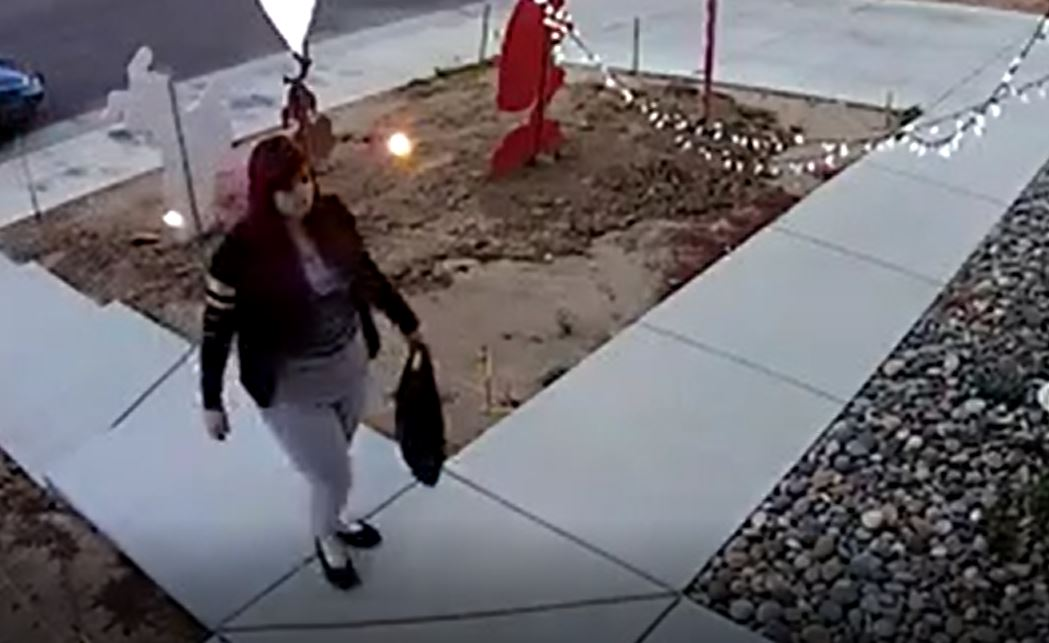 Police say this woman, Alice Bingham, was caught on camera walking up to a porch, and stealing packages.{&amp;nbsp;}<p></p>