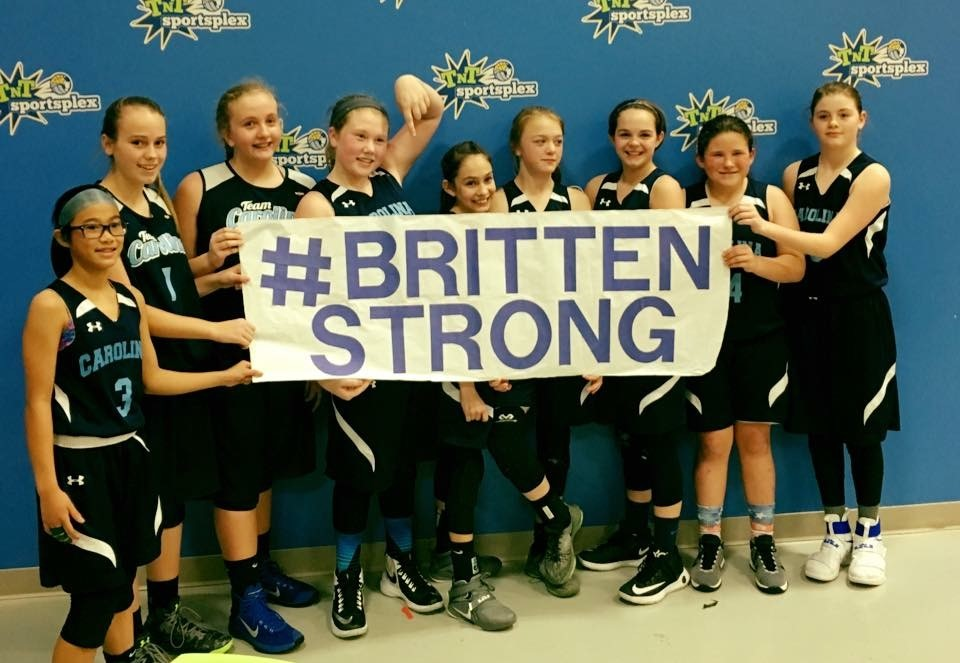 Communities across Western North Carolina have rallied behind Britten Olinger and held numerous fundraisers for the Olinger family. (Photo credit: BrittenStrong)