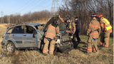 Rollover crash on Thruway sends person to hospital