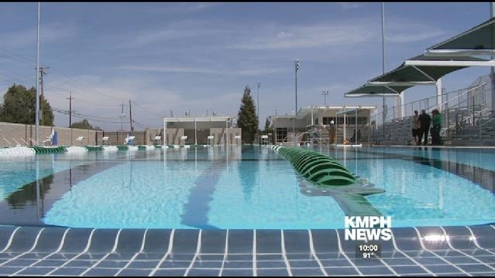 reedley 39 s state of the art swimming complex pool is stainless steel kmph. Black Bedroom Furniture Sets. Home Design Ideas