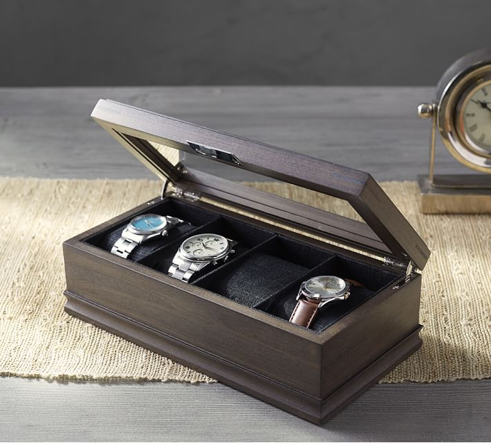 Roy Watch Box $79 from Pottery Barn. Find on potterybarn.com. (Image: Pottery Barn)