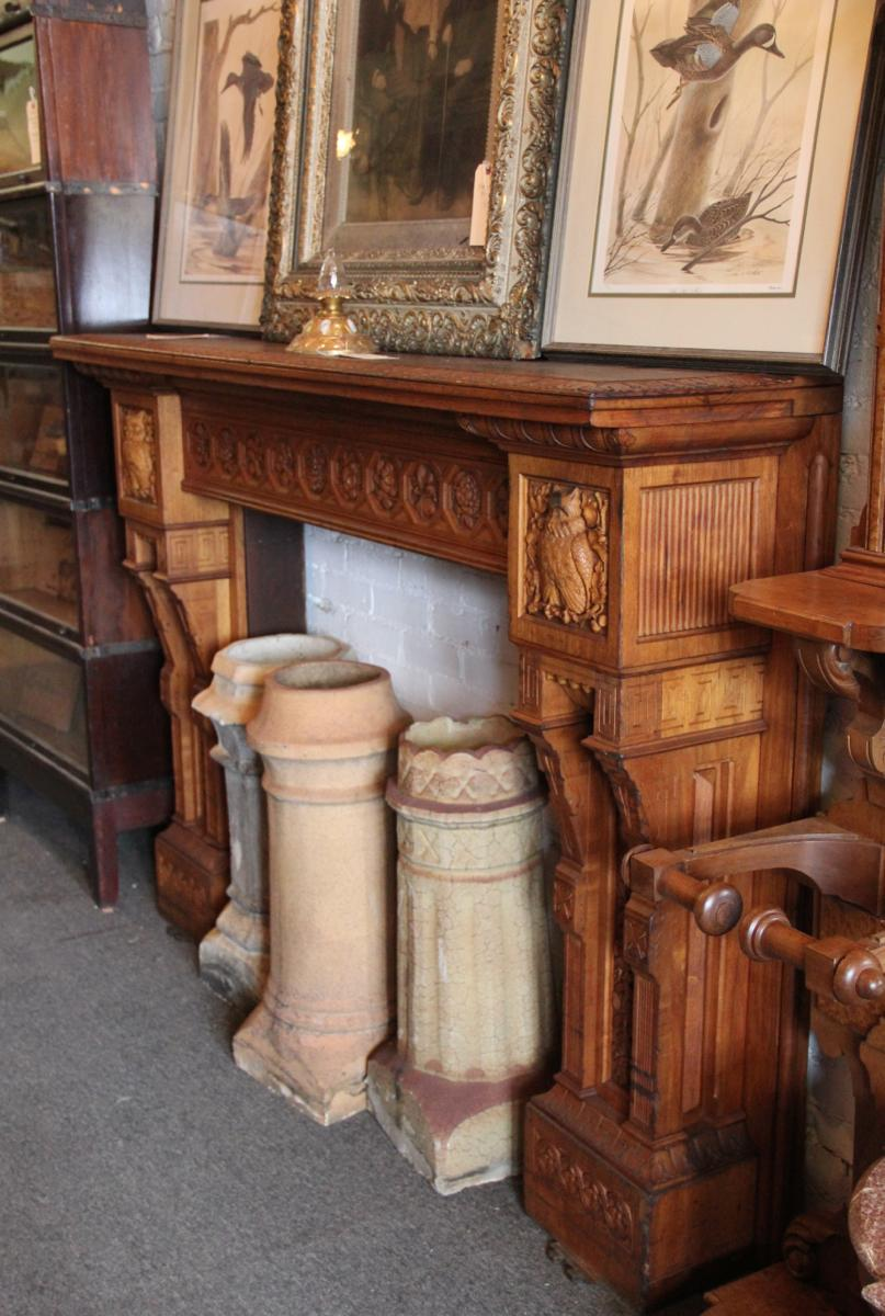 "Rocking the architectural antique scene since 1976, Wooden Nickel specializes in a variety of styles, eras, and furniture genres. Because its real focus is on ""WOW."""