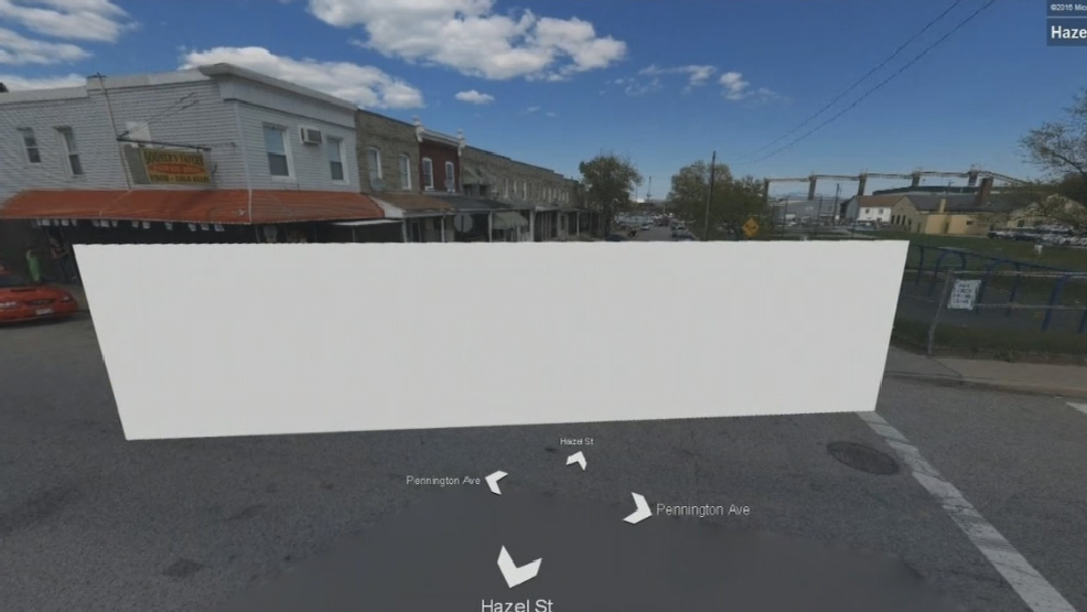 Baltimore homicide scene now censored on Bing Streetside map | WBFF