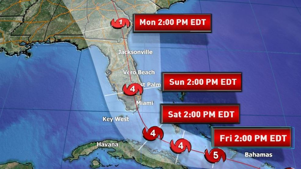 Hurricane Watch issued for Palm Beach County WPEC