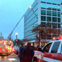 Fire damages MSNBC, Fox News, C-SPAN studios in D.C. as Mike Pence scheduled to appear