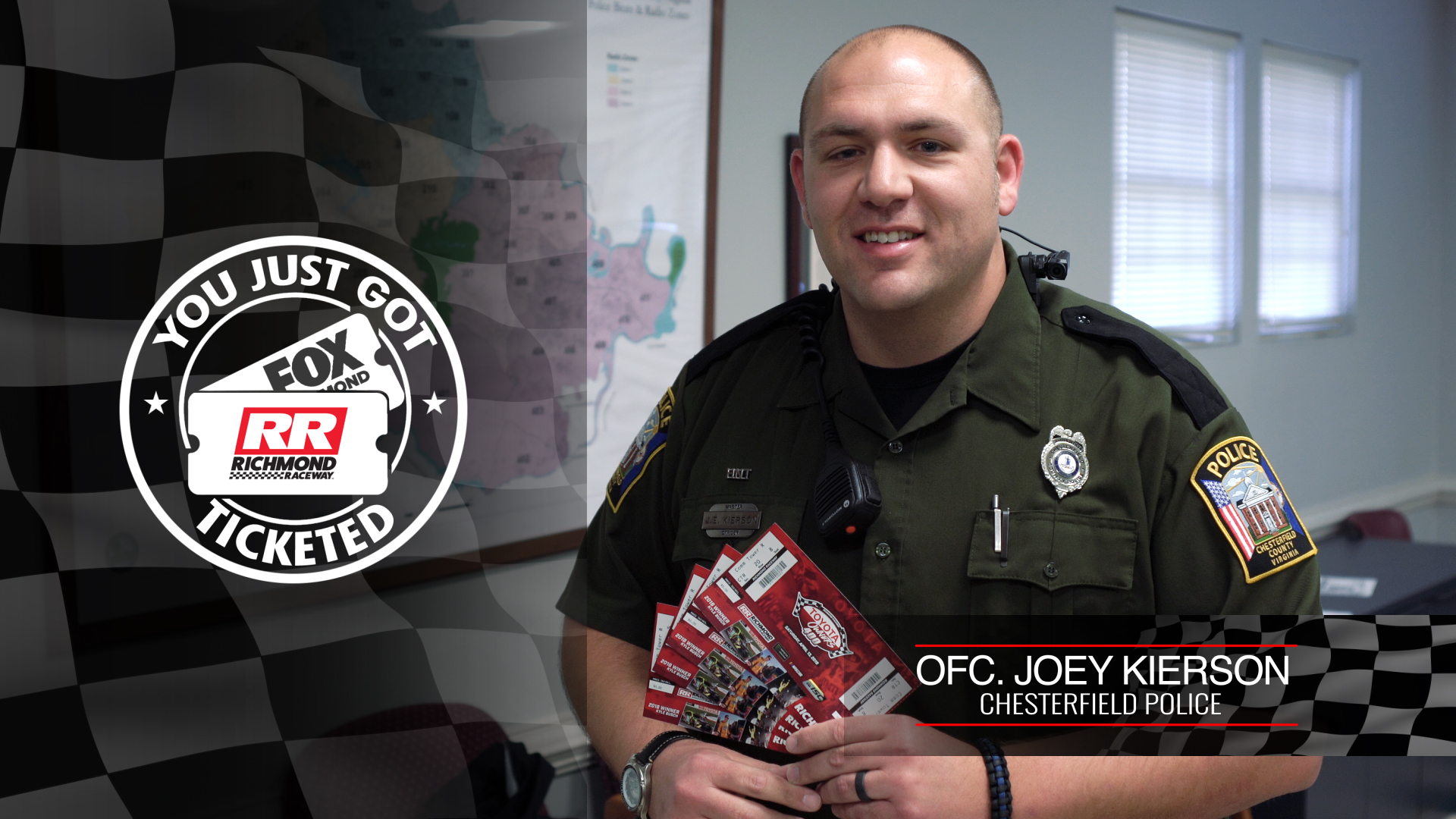Officer Joey Kierson, Chesterfield Police Dept