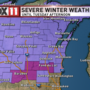 Winter Storm Brooks to bring icy conditions