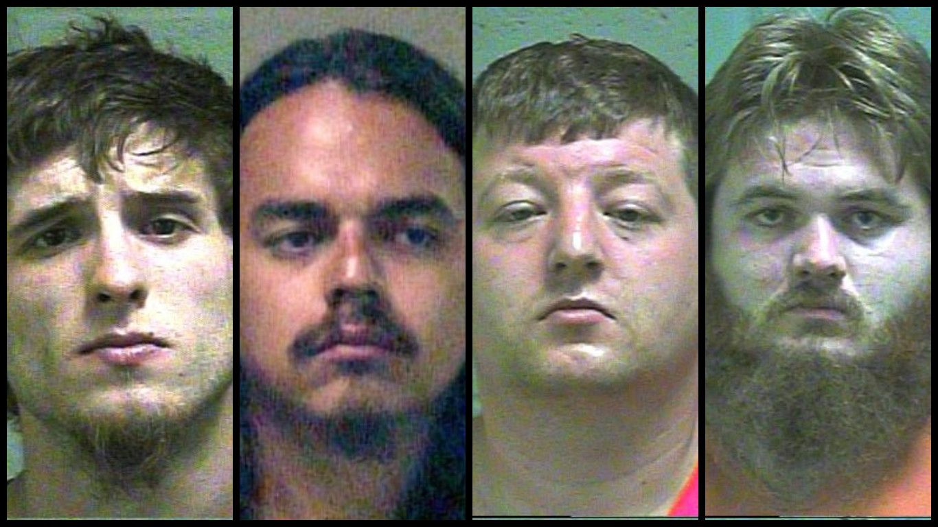 "Eight people were arrested July 26-29 during the ""Gathering of the Juggalos"" in Oklahoma City. (Oklahoma County Jail)"