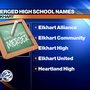 Name of new merged Elkhart high school expected to be revealed