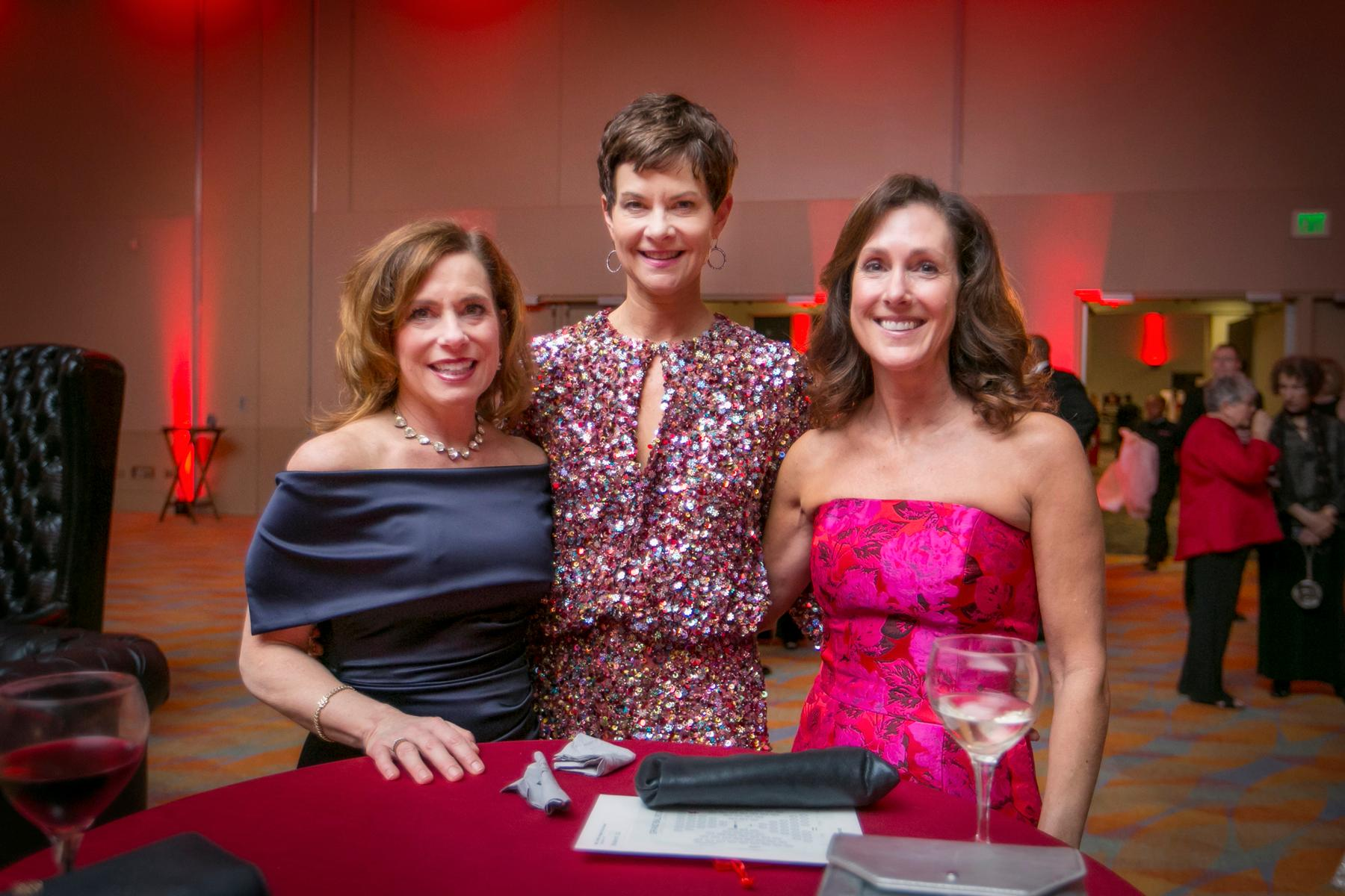 Donna Schnicke, Jennifer Homer, and Ceci David / Image: Mike Bresnen Photography