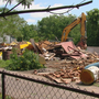 St. Rita demolishes former haunted house