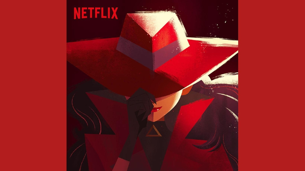 Where in the world is Carmen Sandiego? Netflix.