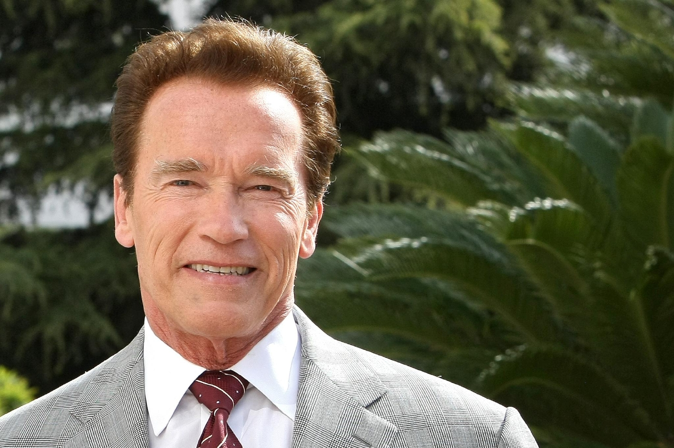 FILE - In this April 4, 2011 file photo, Austrian-American actor and former Governor of California, Arnold Schwarzenegger, poses for photographers during the International Television Programme Market (MIPTV) in Cannes, southern France. (AP Photo/Lionel Cironneau, file)