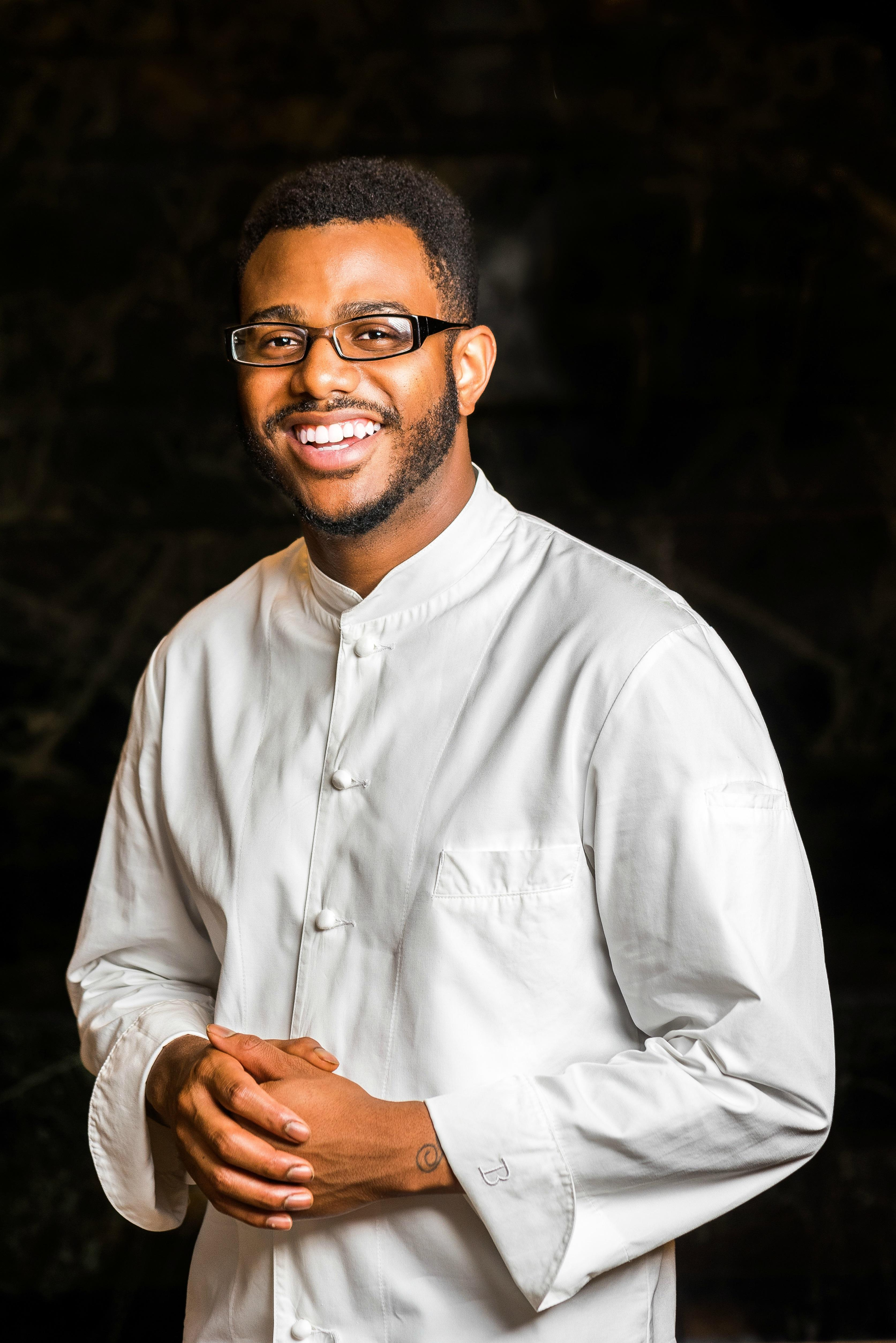 "Kwame Onwuachi, author of{ }""Notes from a Young Black Chef"" (Image: Rey Lopez)"