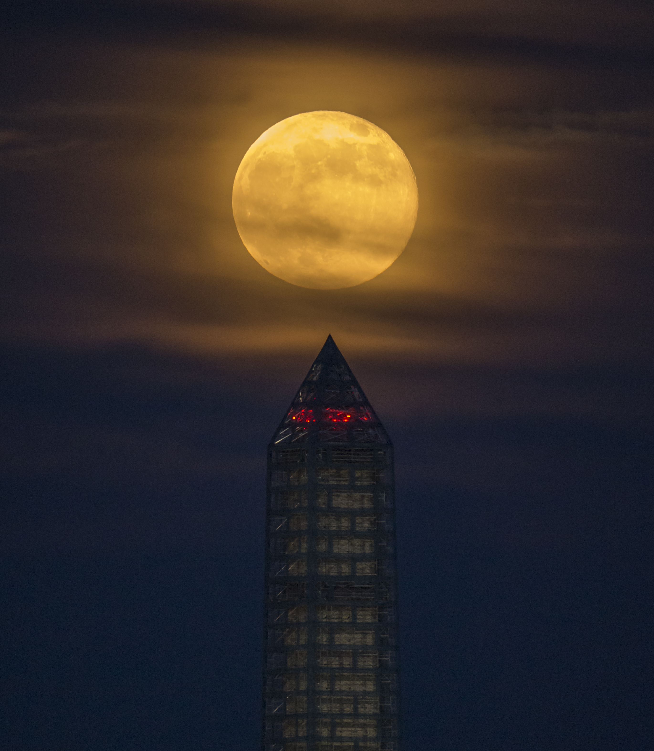 PICTURE SHOWS: A supermoon rises behind the Washington Monument, Sunday, June 23, 2013, in Washington.  ...  Prepare to have your mind blown - NASA has collected together a treasure trove of more than 140,000 images, videos and audio files.  The stunning collection consolidates imagery spread across more than 60 collections into one searchable location, called the NASA Image and Video Library website.  Cover Images have chosen a gallery of the most popular images currently on the website, which include the first American astronaut to walk in space and a self-portrait of NASA's Curiosity Mars rover.  The portal allows users to search and discover content from across the agency's many missions in aeronautics, astrophysics, Earth science, human spaceflight, and more.  The library is not comprehensive, but rather provides the best of what NASA makes available from a single point of presence on the web. Additionally, it is a living website, where new and archival images, video and audio files continually will be added.  Where: Washington, District Of Columbia, United States When: 23 Jun 2013 Credit: (NASA/Bill Ingalls)  **MANDATORY CREDIT: (NASA/Bill Ingalls)**