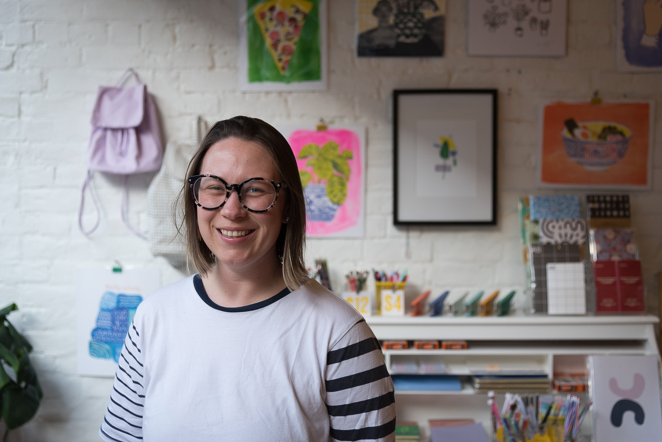 Suzy Strachan, co-owner of Handzy Shop + Studio / Image: Phil Armstrong, Cincinnati Refined // Published: 6.8.18