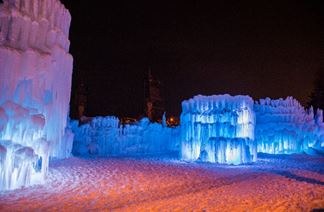 Midway Ice Castles closing due to warm weather (Photo: KUTV){ }
