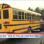 'Justice Bus' tours Lancaster pipeline construction