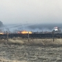 Fire near Tulia 85% contained after 2 homes burned; crews assessing damage