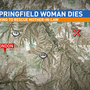 Sheriff: Springfield woman found dead after leaving wreckage of car to go for help