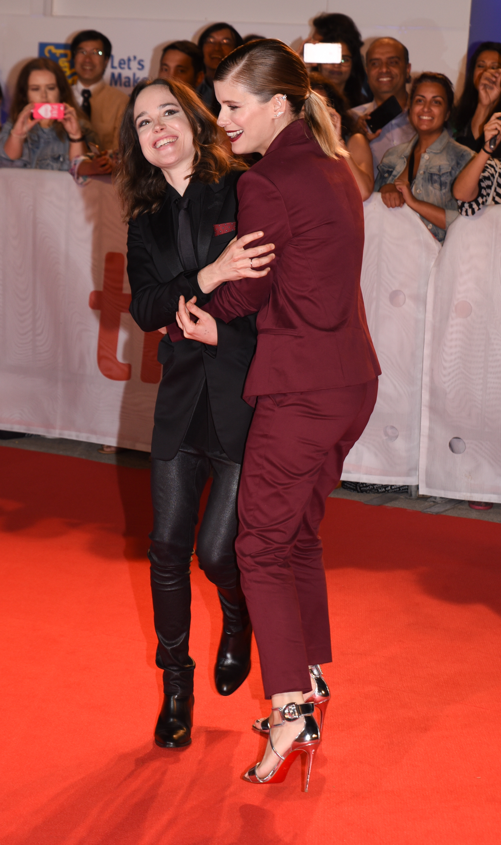 42nd Toronto International Film Festival - 'My Days of Mercy' - Premiere  Featuring: Kate Mara, Ellen Page Where: Toronto, Canada When: 15 Sep 2017 Credit: Jaime Espinoza/WENN.com