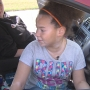 8-year-old jumps into action when sister has seizure while driving